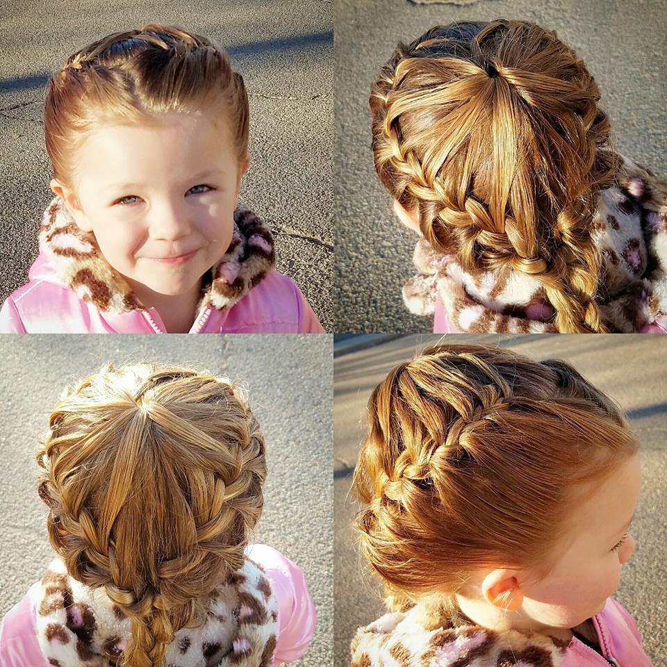 Какую прическу сделать дочке на длинные волосы