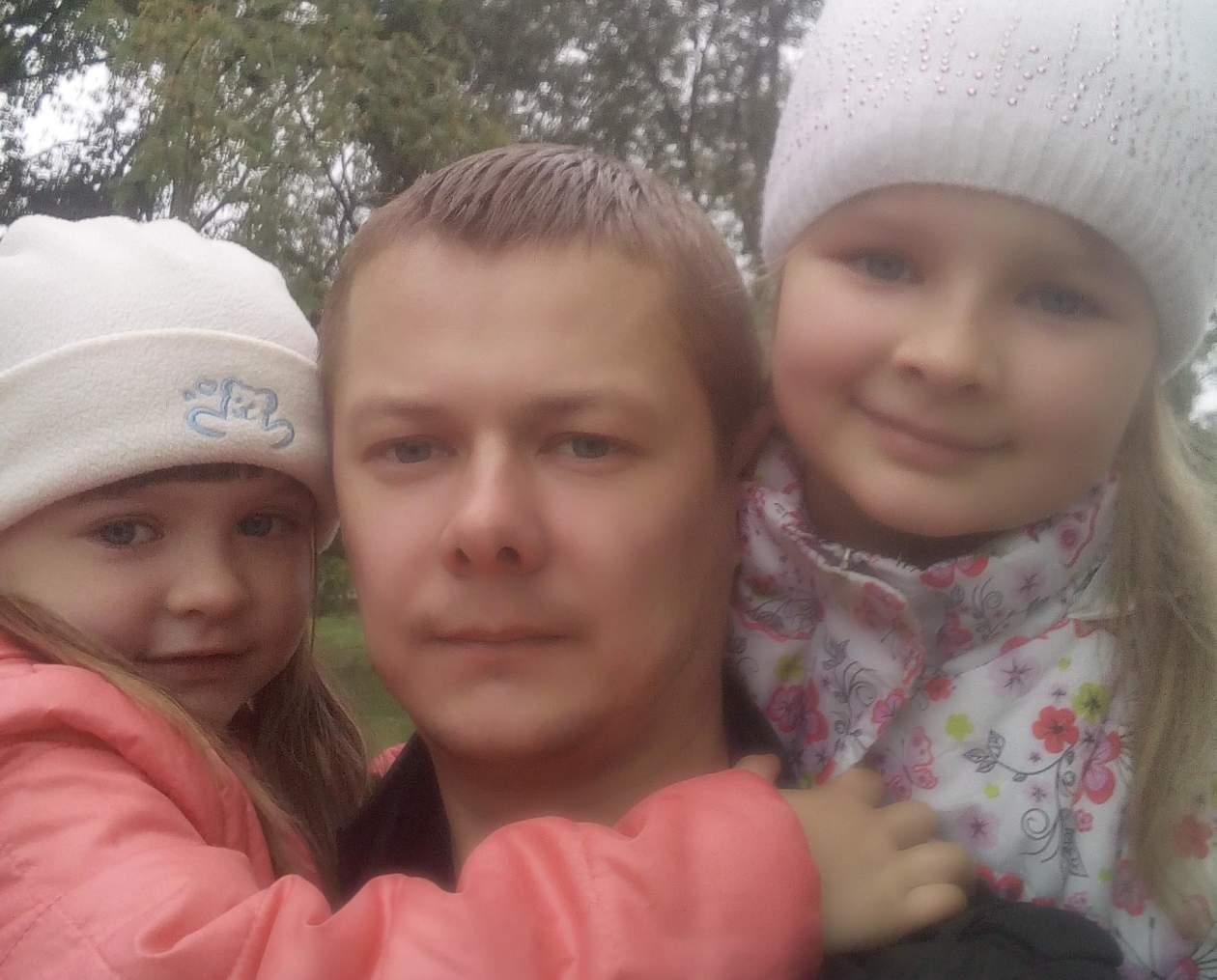 Короткевич Сергей и дочери